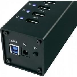 Hub en aluminium 10 ports USB 3.0