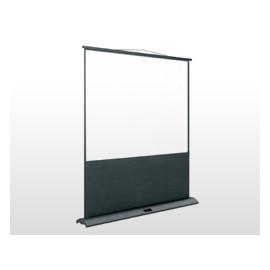 Écran mobile FLY, carter en aluminium anodisé noir 150x200 cm