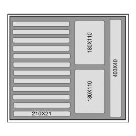 Mousse d'accueil M500 T3
