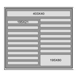 Mousse d'accueil M500 T4