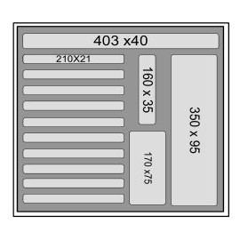 Mousse d'accueil M500 T5