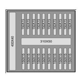 Mousse d'accueil M500 T6