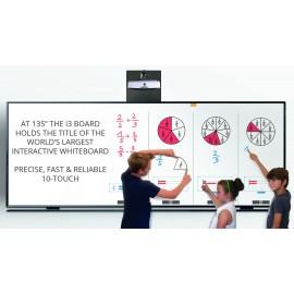 i3 Board 135 pouces + vidéoprojecteur