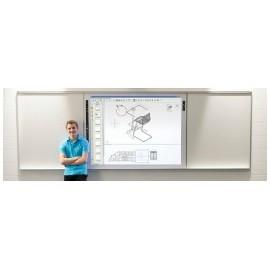 """[PackZen] Tableaux triptyque interactif i3 Board 87"""" + EB575W"""