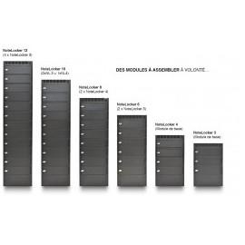 NoteLocker 4 casiers au sol