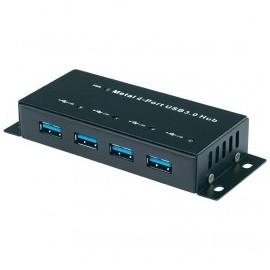 Hub métallique 4 ports USB 3.0