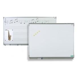 POLYVISION Tableau CLASSIC 120x400 cm, émail e3 blanc feutre